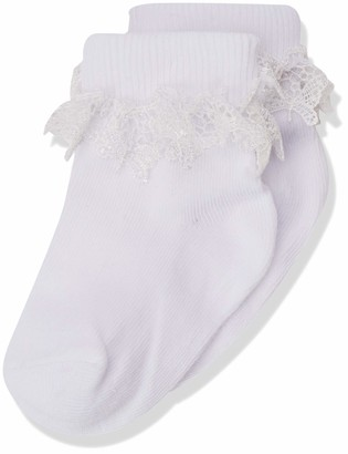 Country Kids Girl's 355 Butterfly Lace Sock 3-5.5