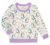 Chaser Toddler's & Little Girl's Unicorns Knit Pullover