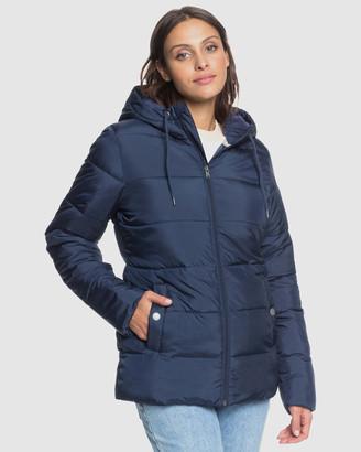 Roxy Womens In The Bay Sherpa Longline Puffer Jacket's