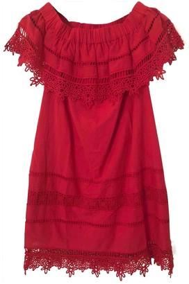 Sea New York Red Cotton Dresses