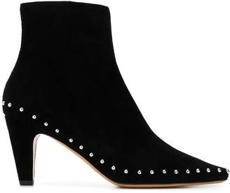 Mulberry Christy 70mm stud booties