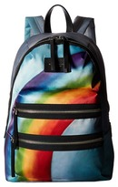 Marc Jacobs Rainbow Printed Biker Backpack
