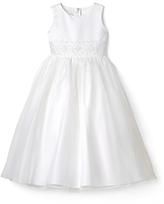 Us Angels Girls' Beaded Waist Dress - Big Kid