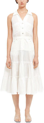 Opening Ceremony Tiered Ruffle Dress