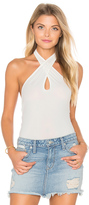 Motel Cross Strap Bodysuit