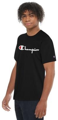 Champion Heritage Embroidered Short Sleeve T-Shirt - Black