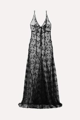 Kiki de Montparnasse Lace Nightdress - Black