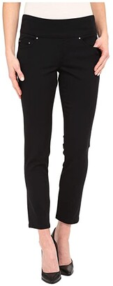 Jag Jeans Amelia Pull-On Slim Ankle Pants in Bay Twill