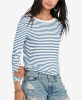 Denim & Supply Ralph Lauren Long-Sleeve Crew-Neck T-Shirt