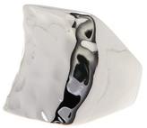 Argentovivo Small Saddle Ring - Size 7