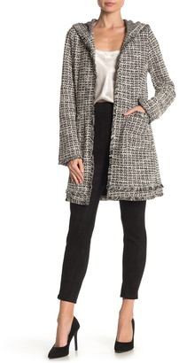 Laundry by Shelli Segal Hooded Boucle Jacket