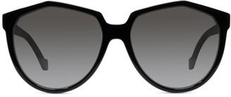 Loewe 59MM Angular Round Sunglasses