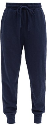 The Upside Bronte Slim-leg Cotton Track Pants - Dark Navy