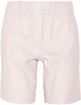 Halston Leather shorts