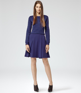 1971 Kula QUILTED JERSEY DRESS