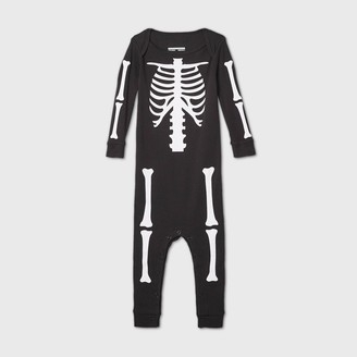 Nobrand Toddler Halloween Skeleton Matching Family Union Suit -