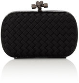 Bottega Veneta Women's Intreccio Impero Clutch-BLACK