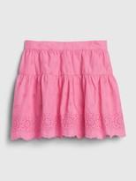 Gap Kids Eyelet Tiered Skirt