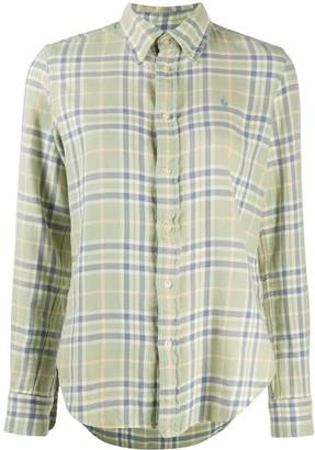 Polo Ralph Lauren Plaid Print Button Down Shirt