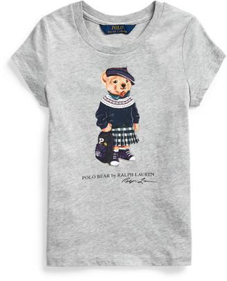 Ralph Lauren Backpack Bear Cotton Tee