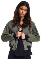 Hudson W757TAH Gene Puffy Bomber In Trooper Green