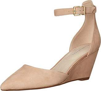 Kenneth Cole New York Women's Ellis Wedge Pump with Ankle Strap Shoe