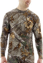 JCPenney Medalist Realtree Performance Stretch Thermal Crewneck Tee