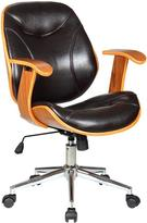 Boraam Rigdom Brown Desk Chair