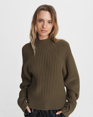 Rag & Bone Oakes wool mock neck