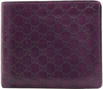 Gucci Purple Leather Small bags, wallets & cases