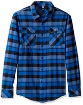 Neff Men's Elliot Long Sleeve Flannel Button up