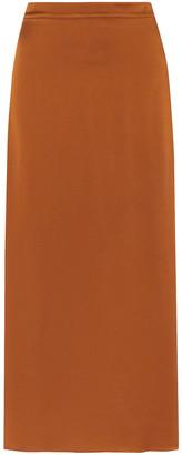 Vanessa Bruno Marie Satin-crepe Midi Skirt