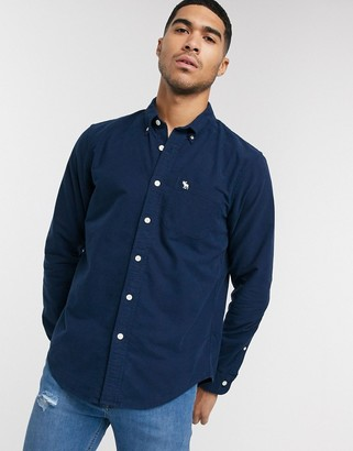 Abercrombie & Fitch logo pocket oxford shirt