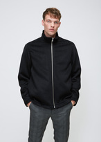 Our Legacy Black Cilium Wool Funnel Blouson