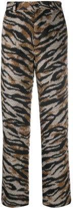 Zadig & Voltaire Tiger Print Trousers