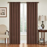 Eclipse Curtains Eclipse Kendall Blackout Thermal Curtain Panel,Chocolate,63-Inch