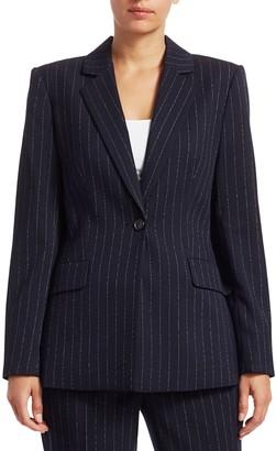 Donna Karan Pinstripe Blazer