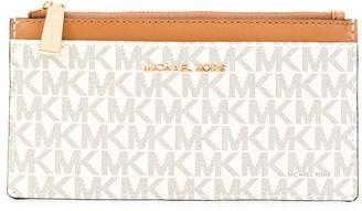 MICHAEL Michael Kors logo print card case