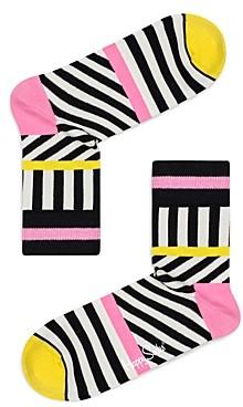 Happy Socks Striped Crew Socks