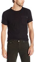 Paper Denim & Cloth Men's Dimitri Short Sleeve Pocket Crew Neck T-Shirt