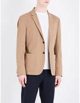 Joseph Single-breasted Cotton Jacket