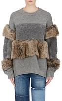 Stella McCartney Women's Fur-Free Fur Wool Sweater