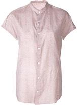 Julien David ruffle blouse