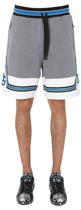 Dolce & Gabbana Contrasting Panelled Track Shorts