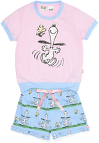 Peter Alexander peteralexander Girls Snoopy Pj Set