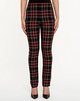 Le Château Plaid Slim Fit Pant