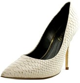 Boutique 9 Justine Pointed Toe Leather Heels.