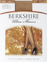 Berkshire Ultra Sheer Control Top Pantyhose - Reinforced Toe