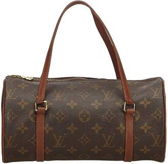 Louis Vuitton Papillon Brown Cloth Handbags