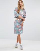 adidas Pastel Camo Print Mini Skirt